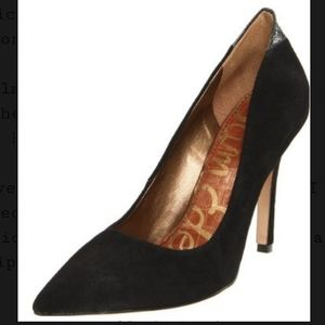 SAM EDELMAN Suede Portney Pumps Size:6